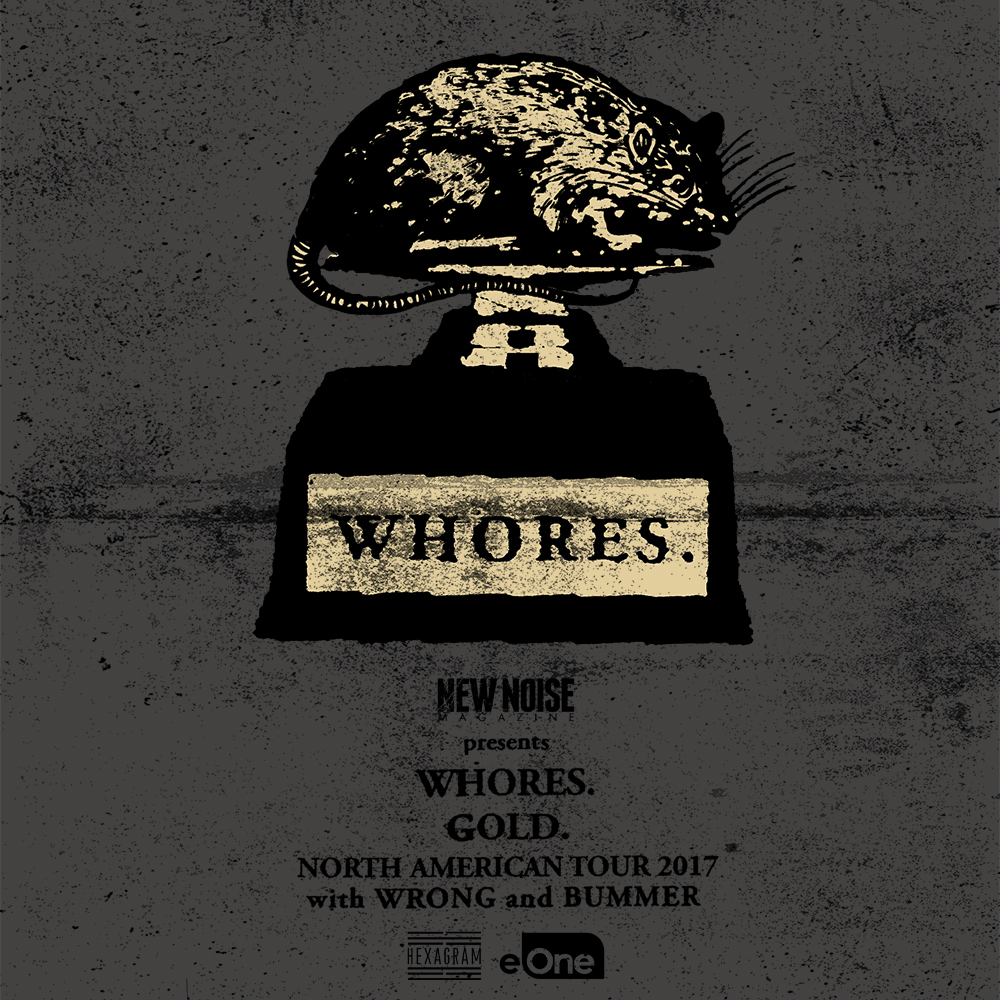 Bummer To Support Whores North American Tour   High Dive Records